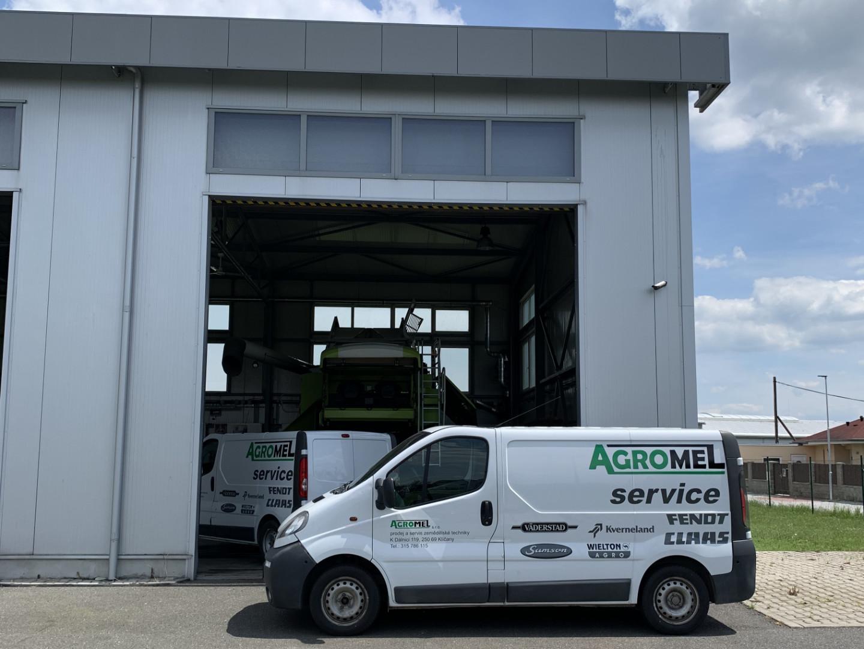 Servisní dodávka Agromel